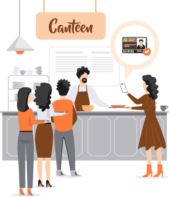 sVang App works at University canteens